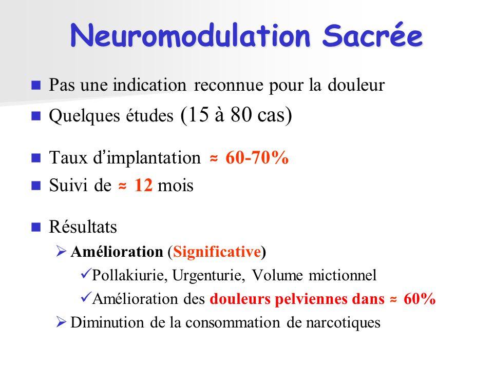 Neuromodulation Sacrée