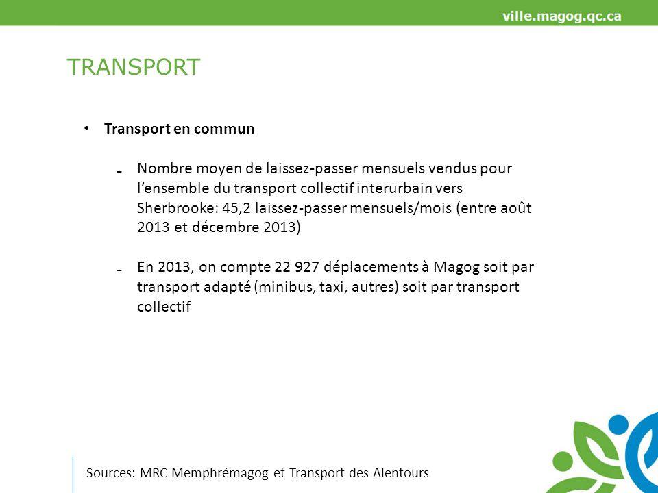 TRANSPORT Transport en commun