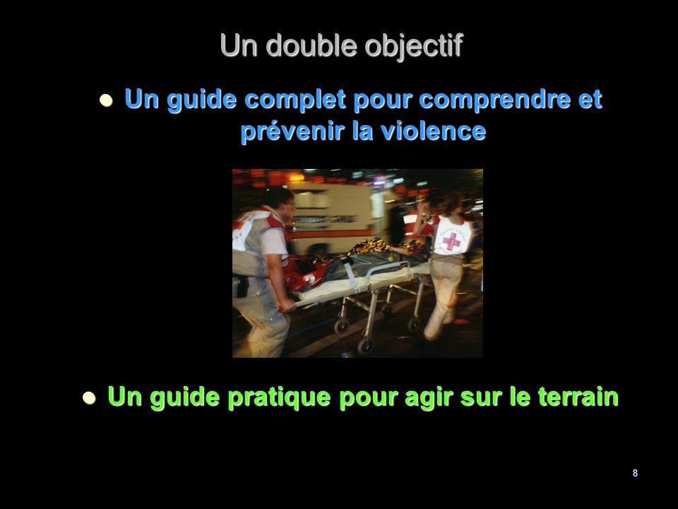 Un double objectif Un guide complet pour comprendre et prévenir la violence.