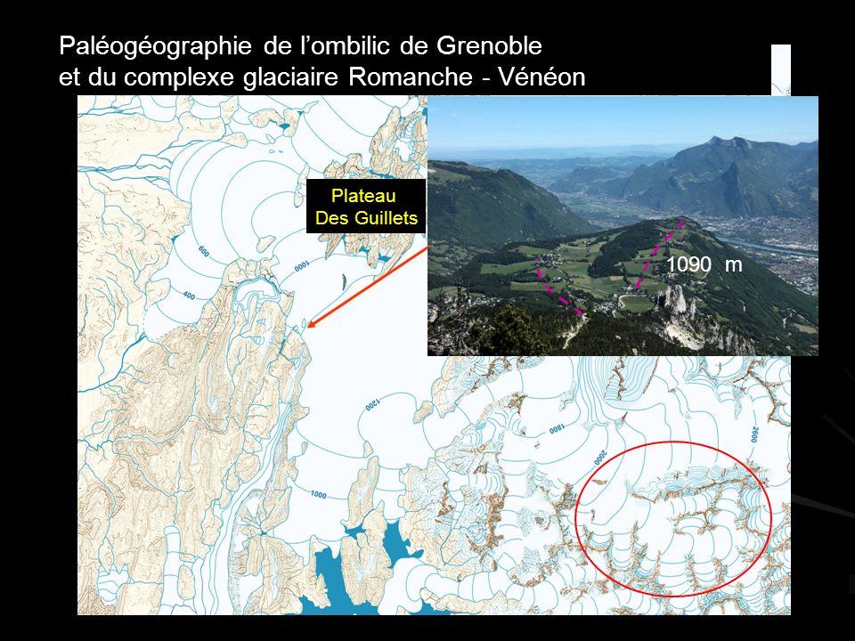 Paléogéographie de l'ombilic de Grenoble