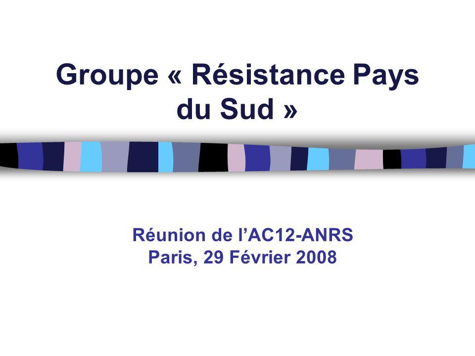 Groupe « Résistance Pays du Sud »
