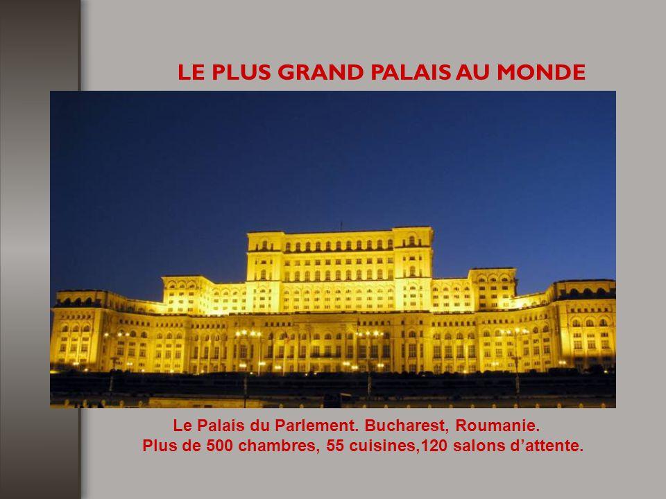 LE PLUS GRAND PALAIS AU MONDE