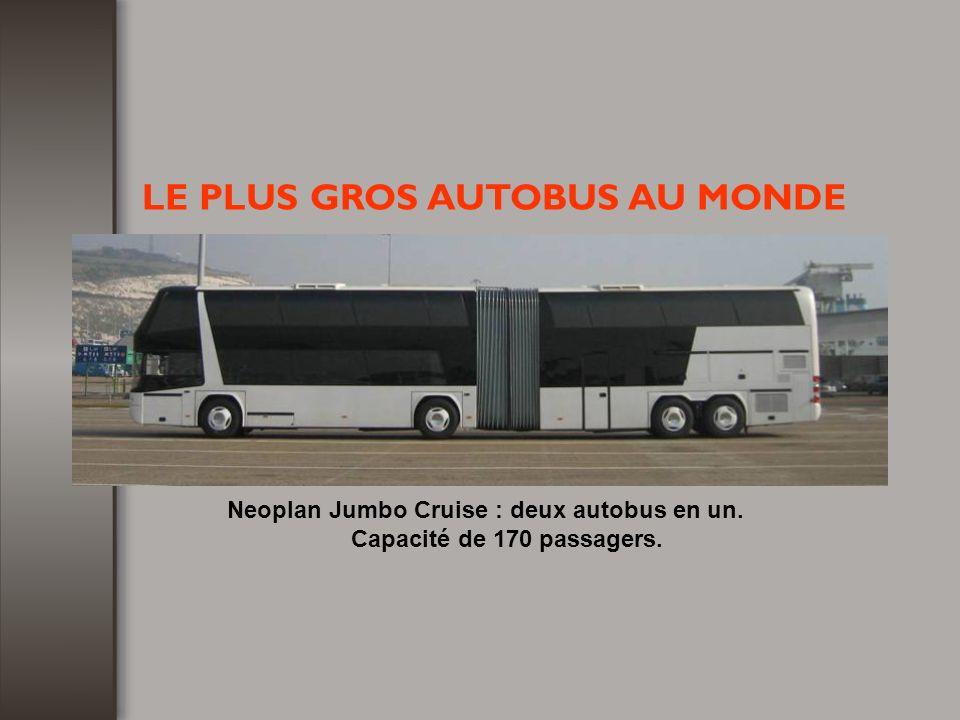 Neoplan Jumbo Cruise : deux autobus en un.