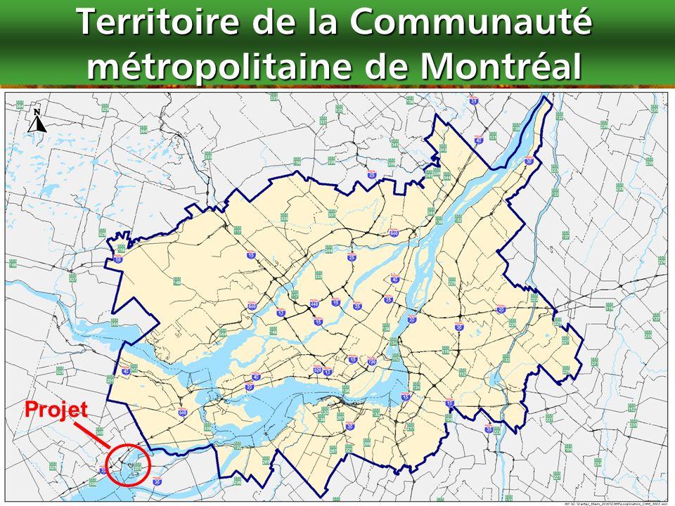 Territoire de la Communauté métropolitaine de Montréal