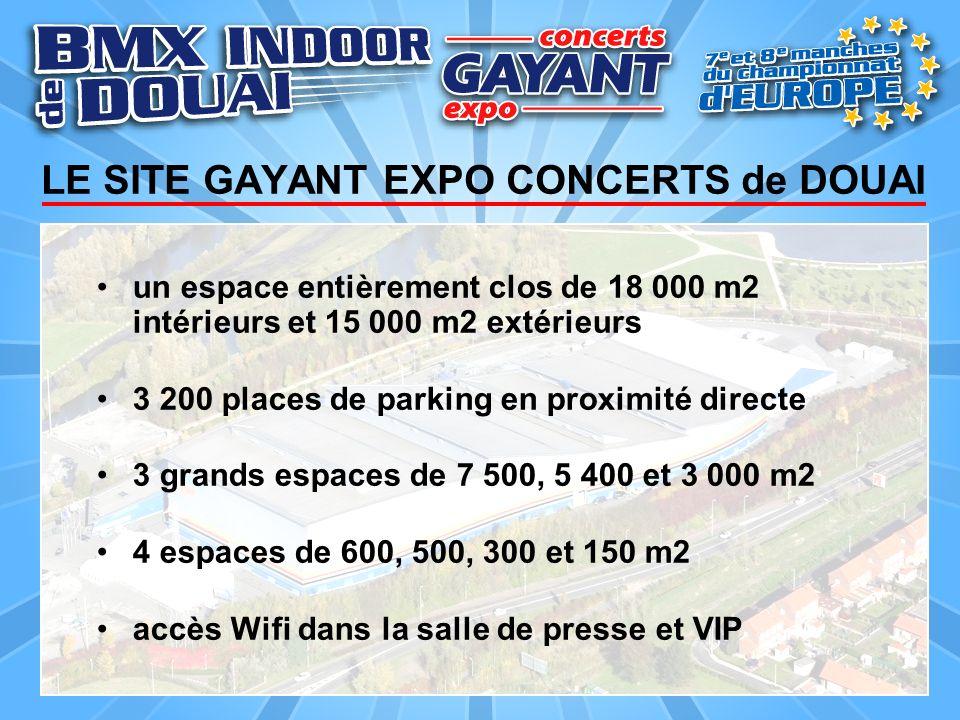 LE SITE GAYANT EXPO CONCERTS de DOUAI