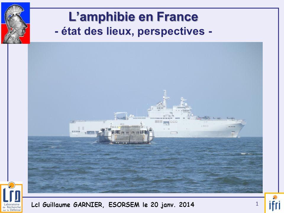 L'amphibie en France - état des lieux, perspectives -