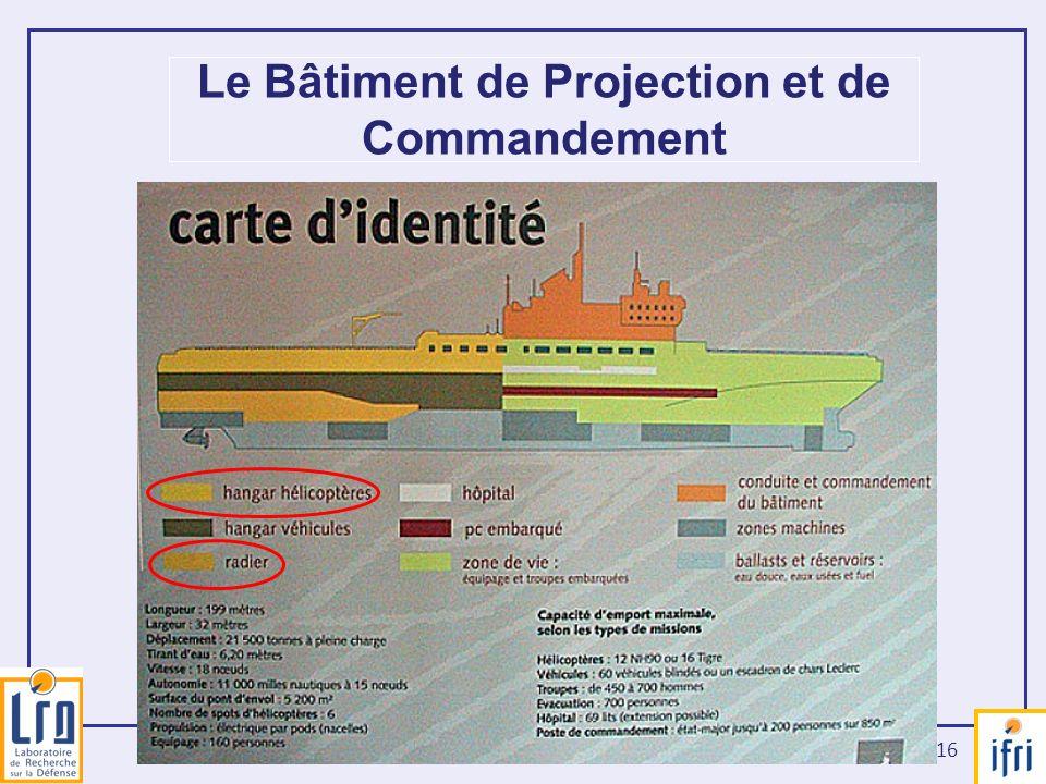 Le Bâtiment de Projection et de Commandement