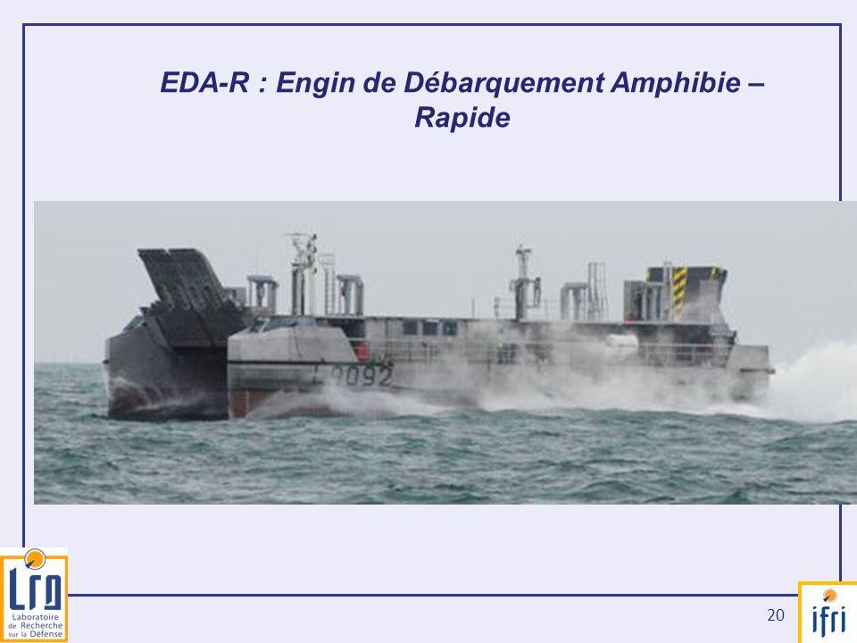EDA-R : Engin de Débarquement Amphibie – Rapide