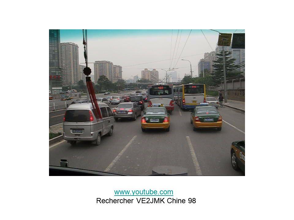 www.youtube.com Rechercher VE2JMK Chine 98