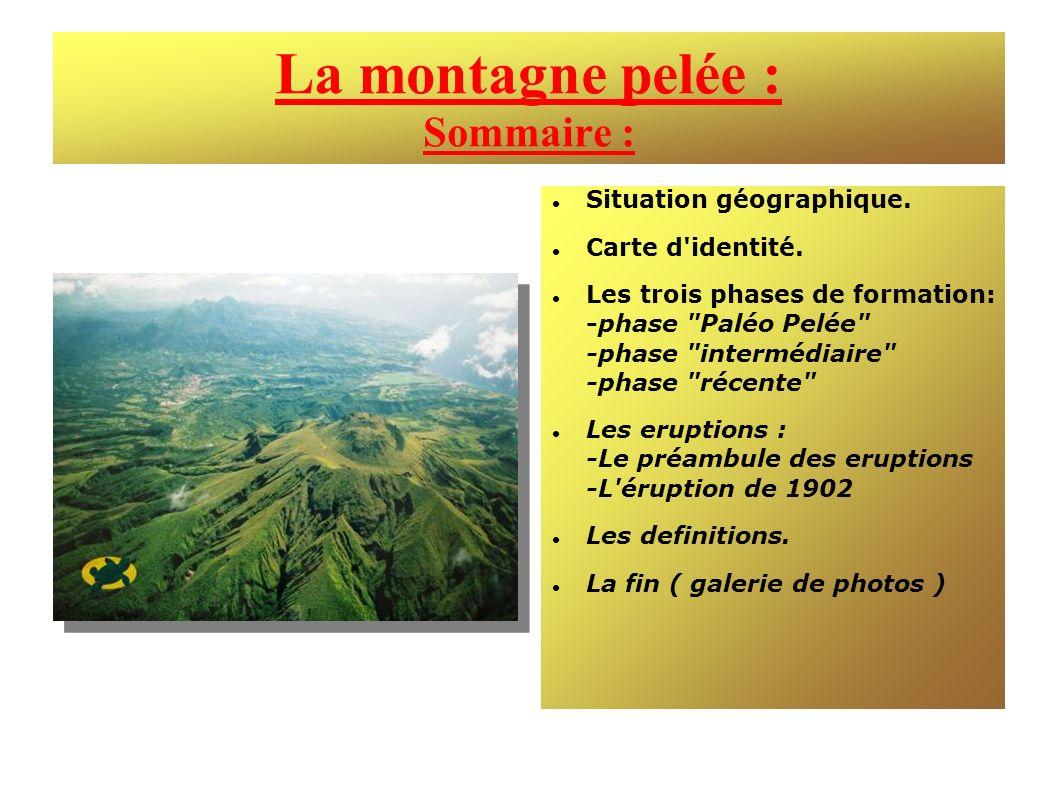 La montagne pelée : Sommaire :