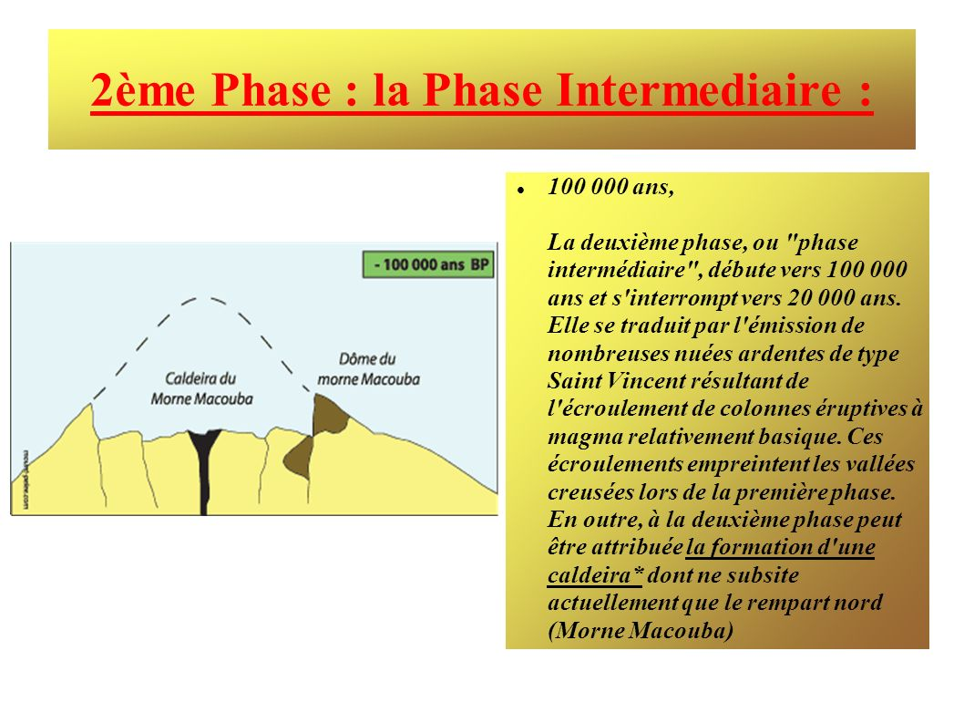 2ème Phase : la Phase Intermediaire :