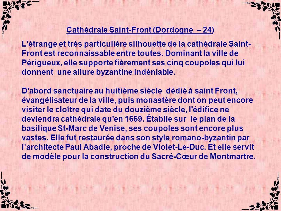 Cathédrale Saint-Front (Dordogne – 24)