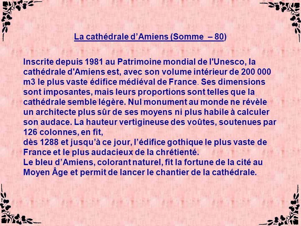 La cathédrale d'Amiens (Somme – 80)