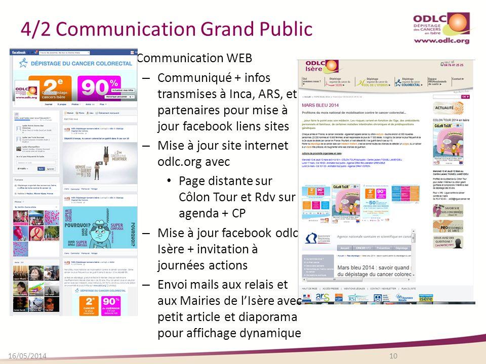 4/2 Communication Grand Public