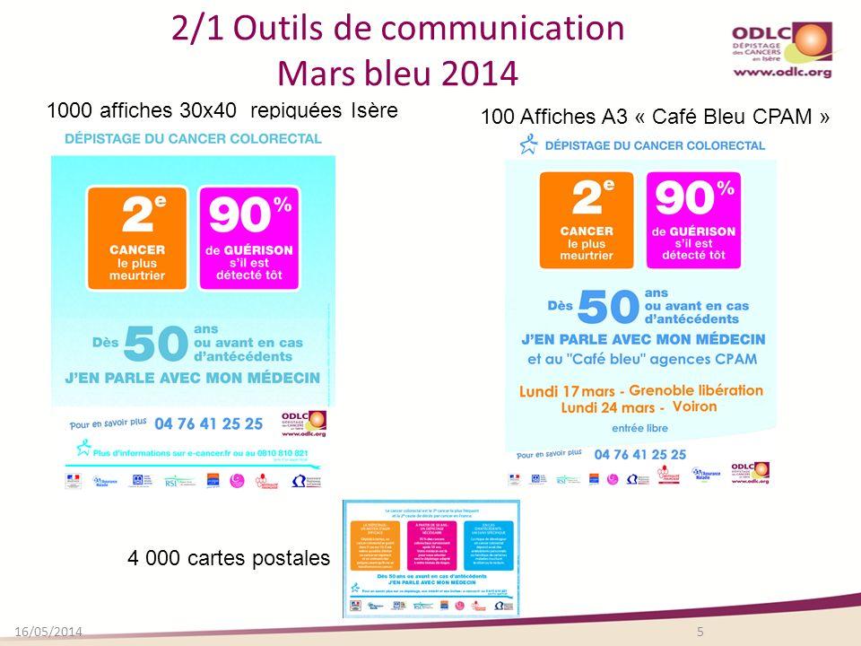2/1 Outils de communication Mars bleu 2014