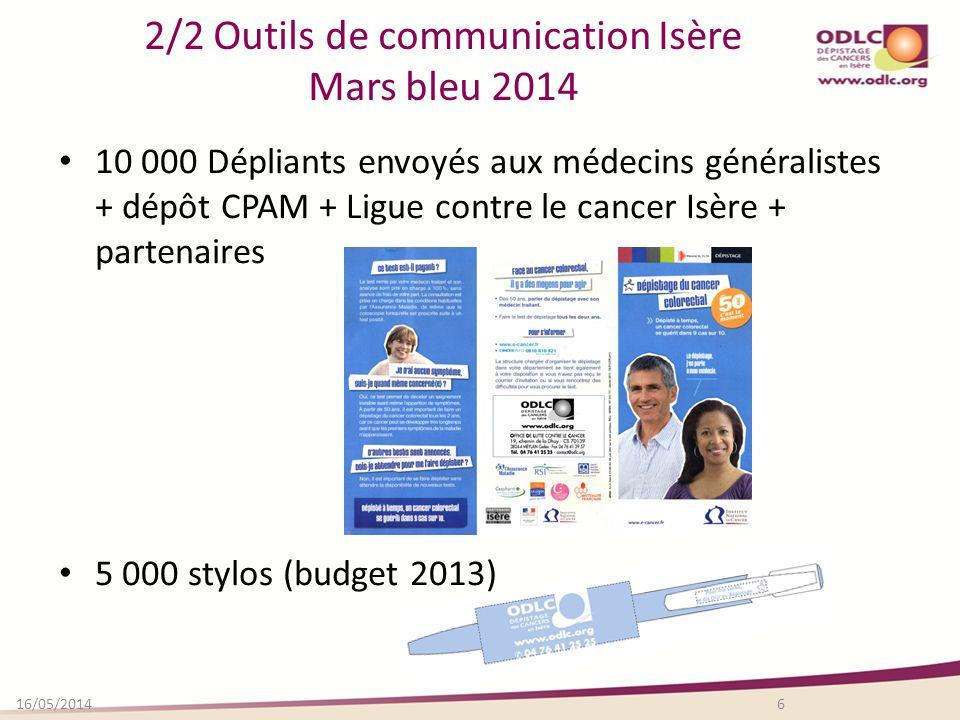 2/2 Outils de communication Isère Mars bleu 2014