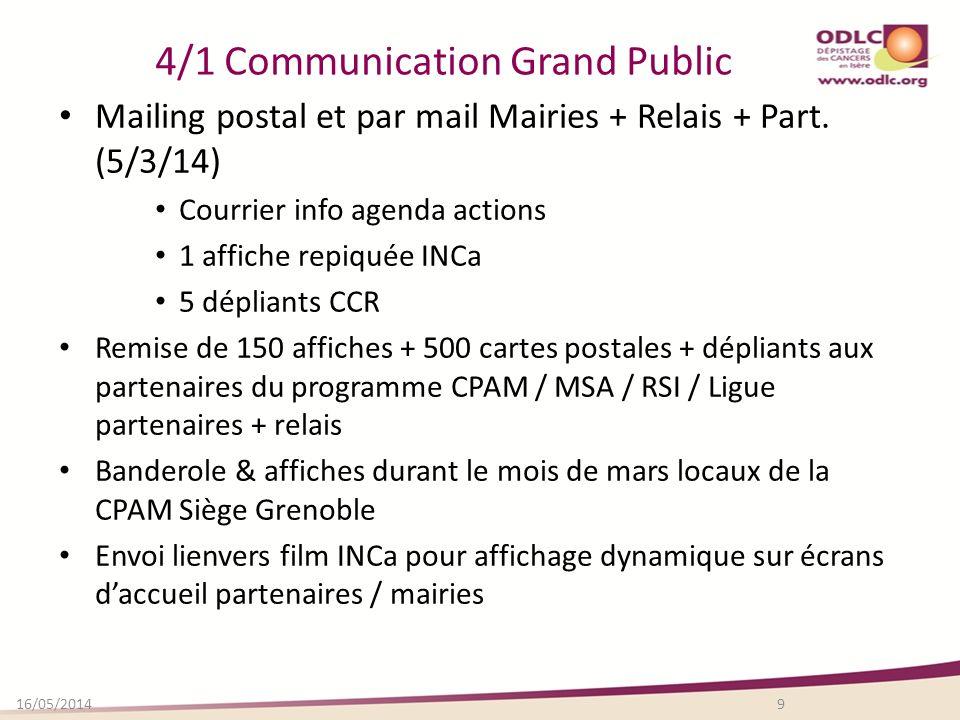 4/1 Communication Grand Public