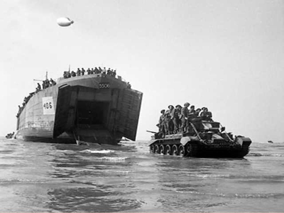 6 juin 1944. Une aube blafarde se lève sur les côtes normandes