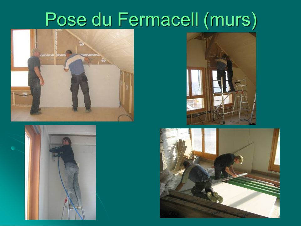 Pose du Fermacell (murs)