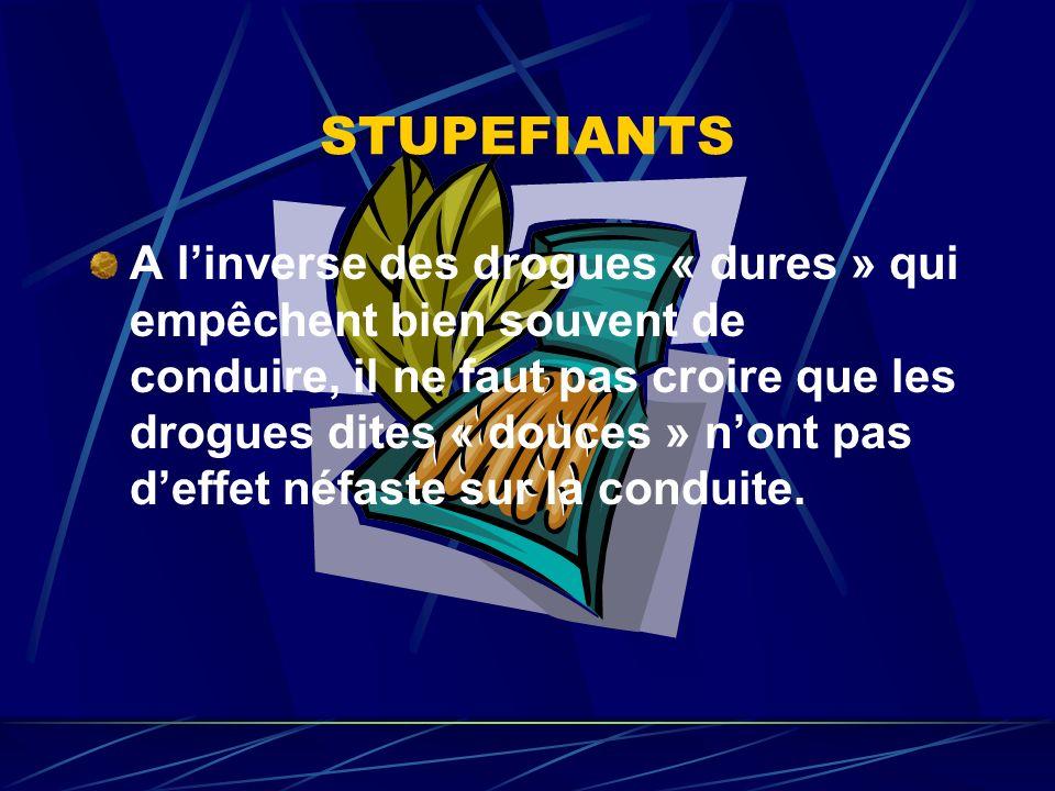 STUPEFIANTS