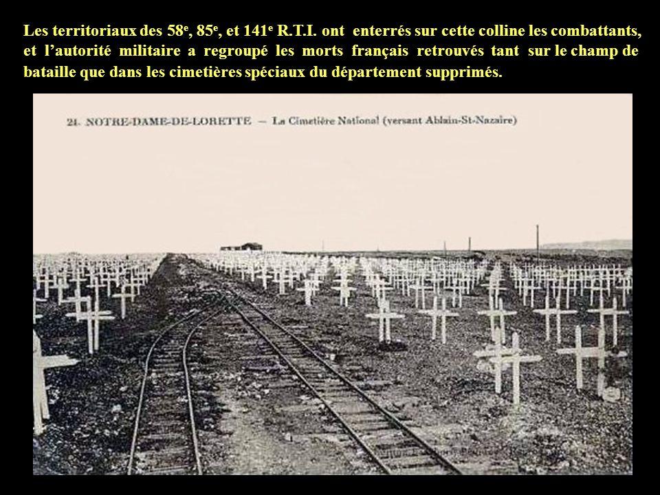 Les territoriaux des 58e, 85e, et 141e R. T. I