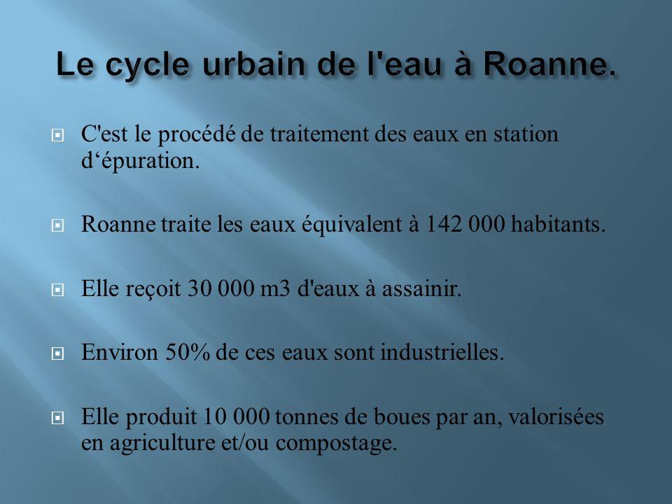 Le cycle urbain de l eau à Roanne.
