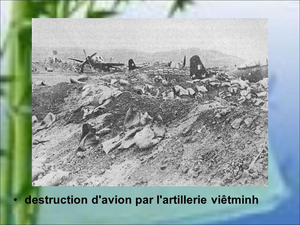 destruction d avion par l artillerie viêtminh