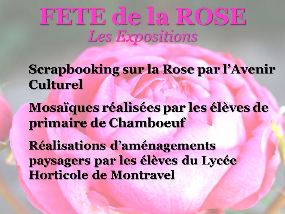 FETE de la ROSE Les Expositions