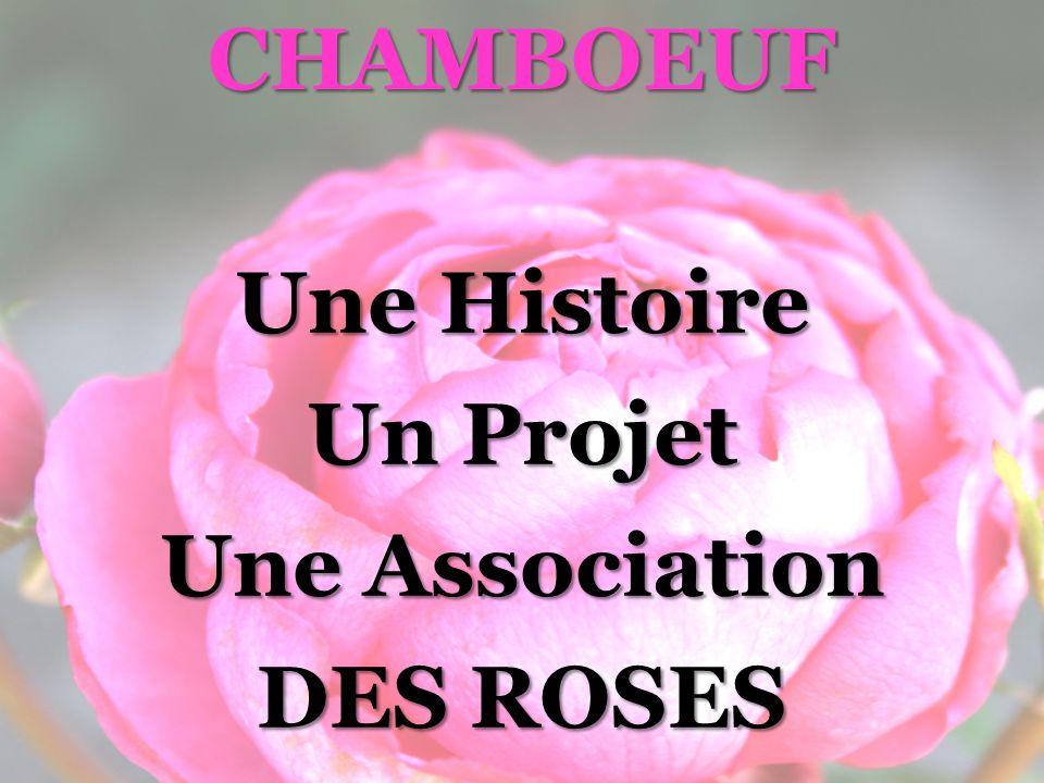 CHAMBOEUF Une Histoire Un Projet Une Association DES ROSES