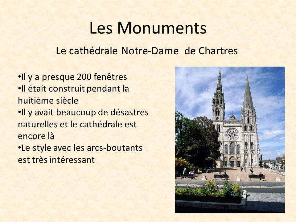 Le cathédrale Notre-Dame de Chartres