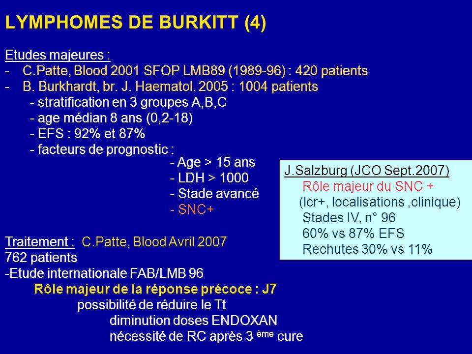 LYMPHOMES DE BURKITT (4)