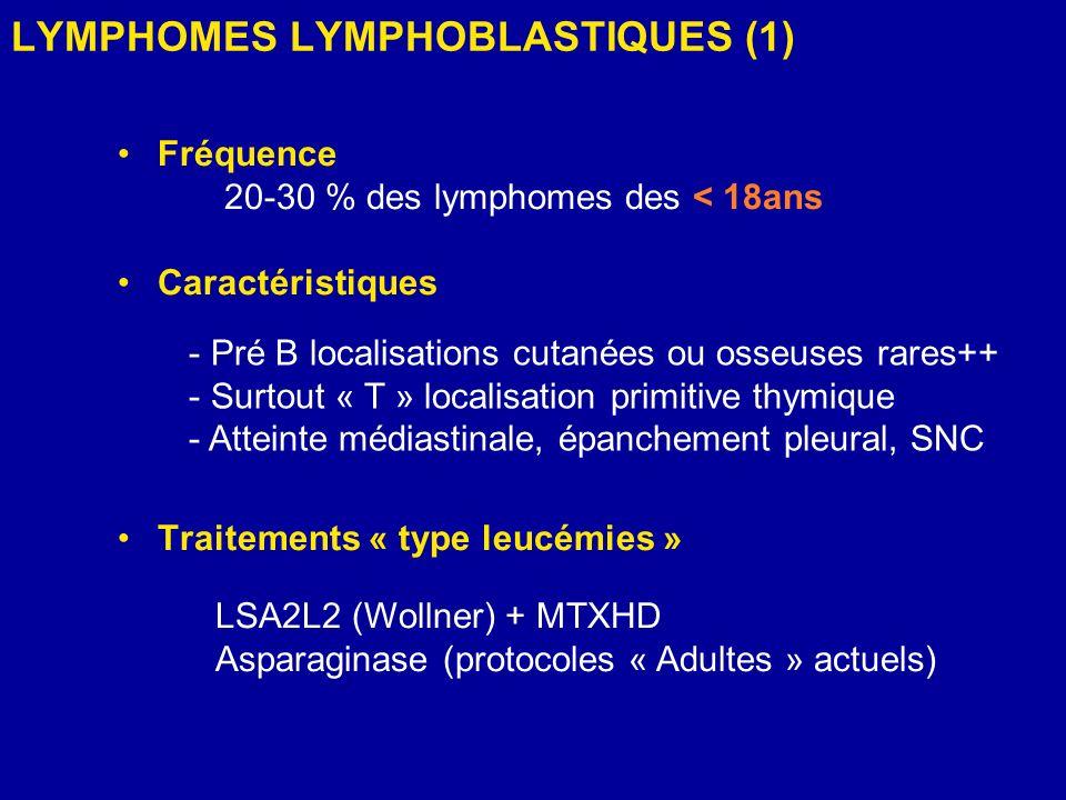 LYMPHOMES LYMPHOBLASTIQUES (1)