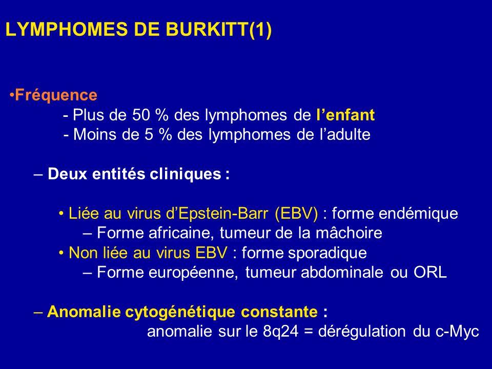 LYMPHOMES DE BURKITT(1)