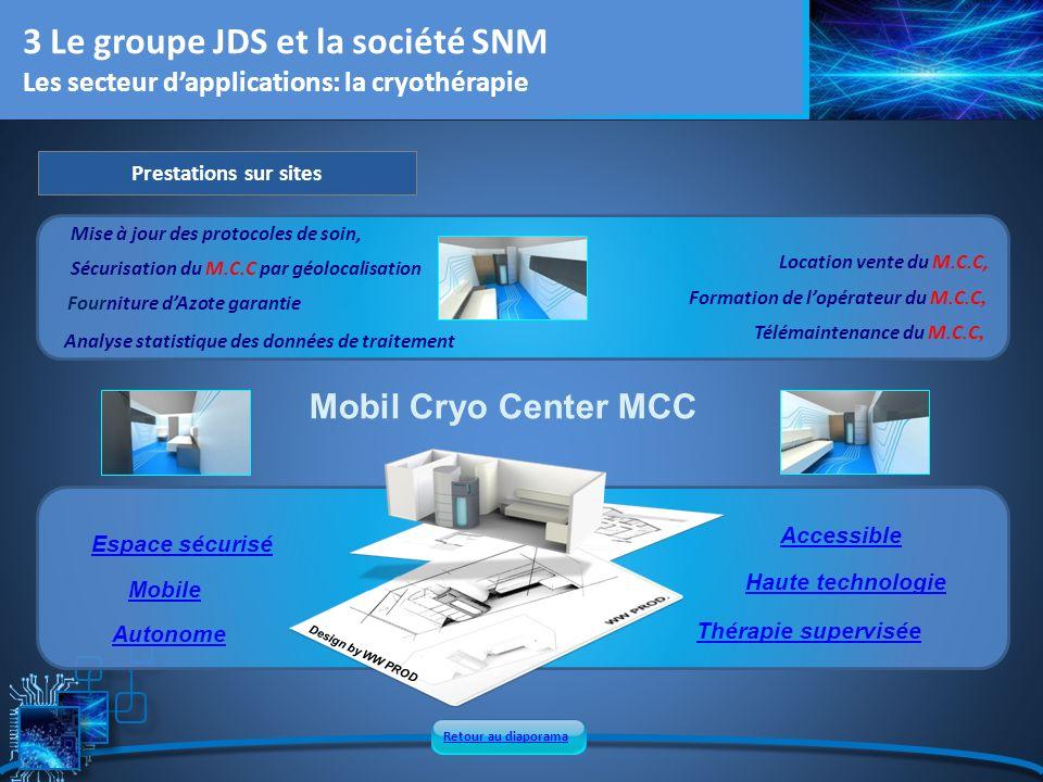 3 Le groupe JDS et la société SNM