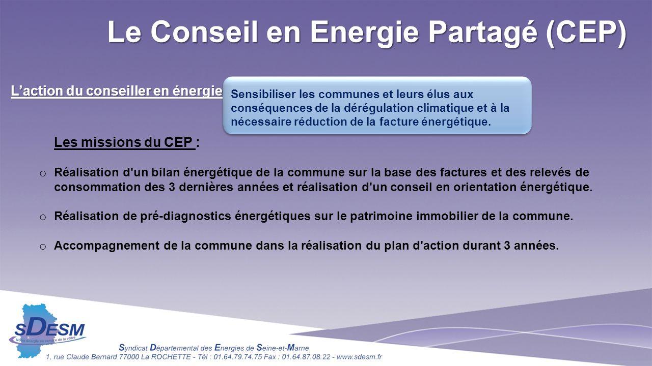 Le Conseil en Energie Partagé (CEP)