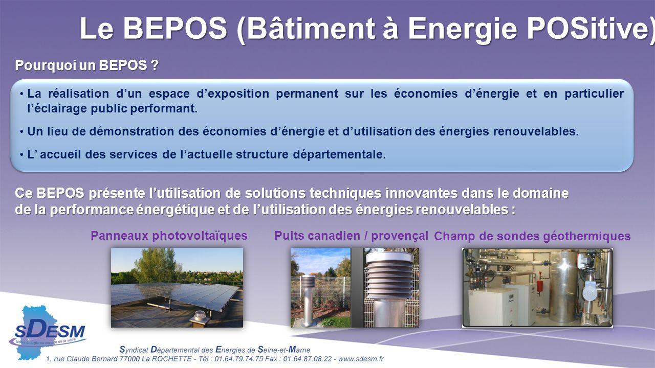 Le BEPOS (Bâtiment à Energie POSitive)