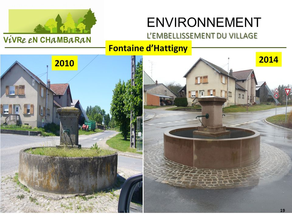 ENVIRONNEMENT Fontaine d'Hattigny 2014 2010