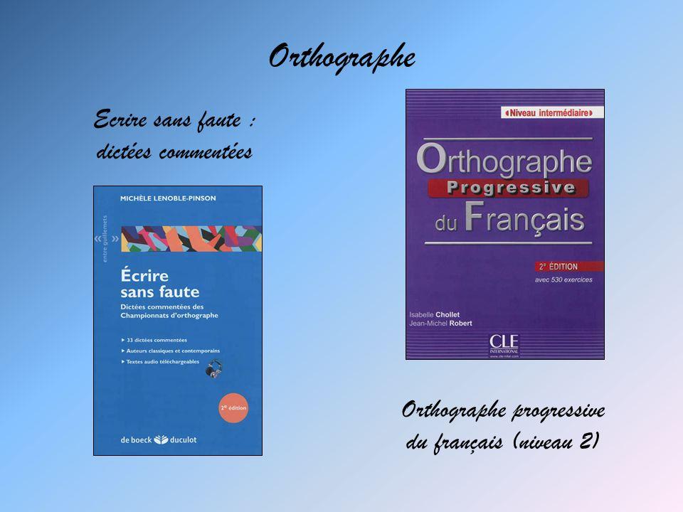 Orthographe progressive