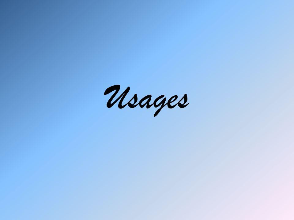 Usages
