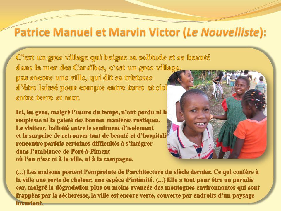 Patrice Manuel et Marvin Victor (Le Nouvelliste):