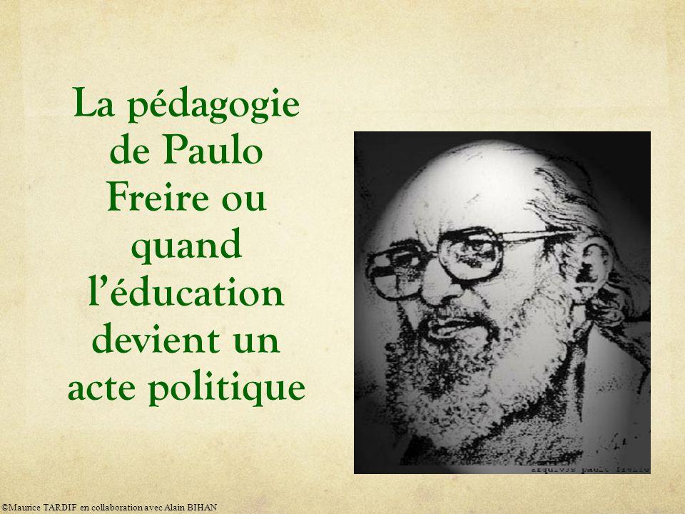 La pédagogie de Paulo Freire ou quand l'éducation devient un acte politique