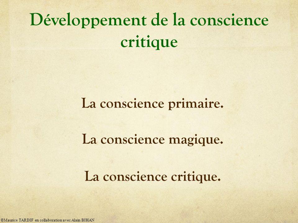 Développement de la conscience critique