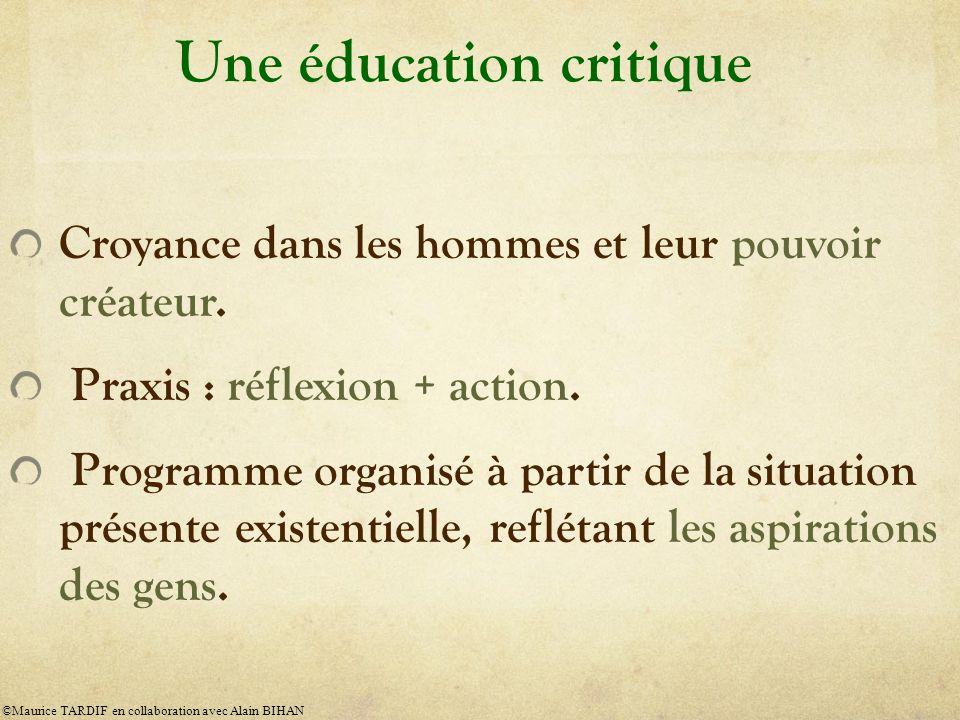Une éducation critique
