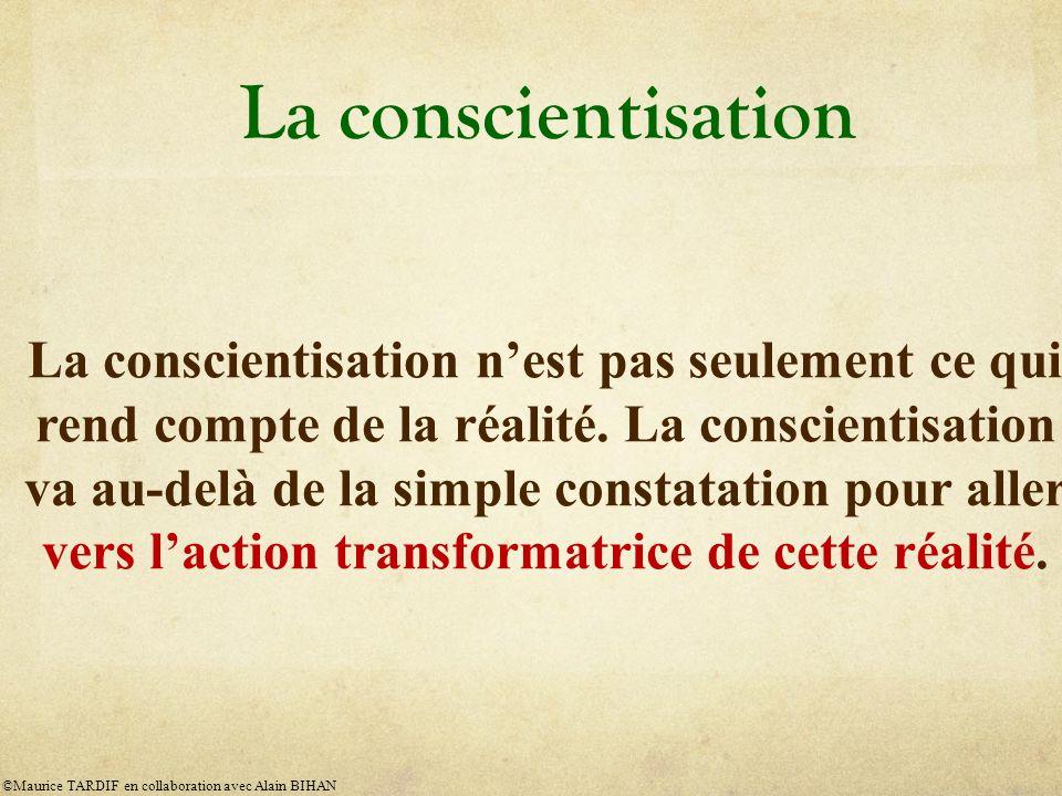 La conscientisation