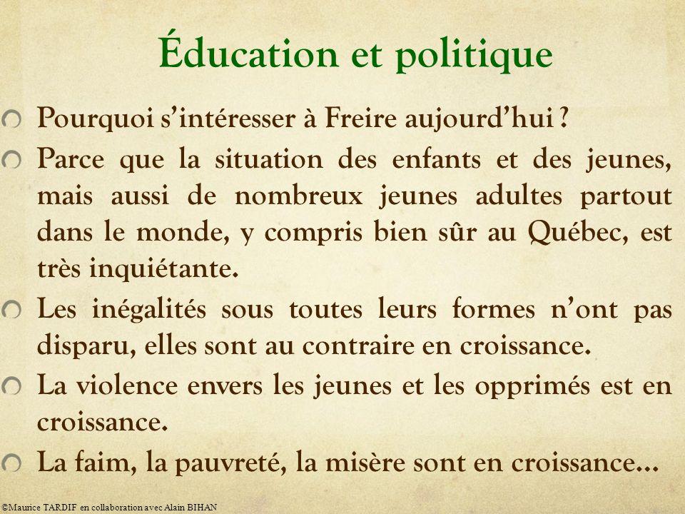 Éducation et politique