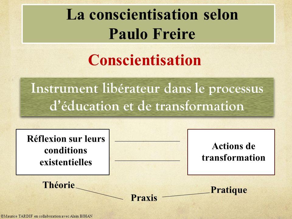 La conscientisation selon