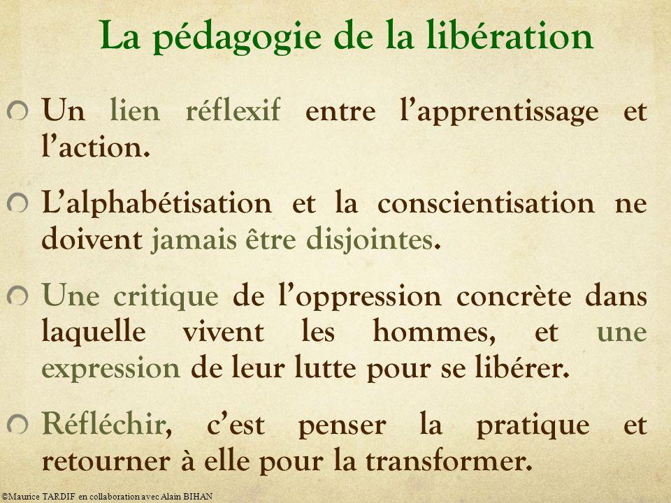 La pédagogie de la libération
