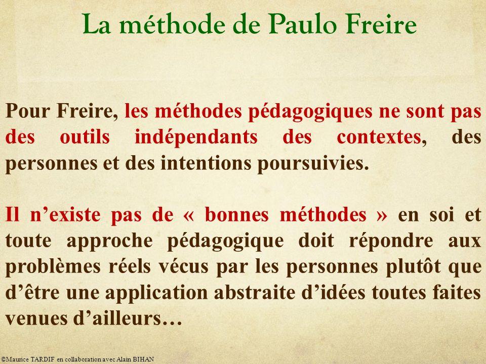 La méthode de Paulo Freire