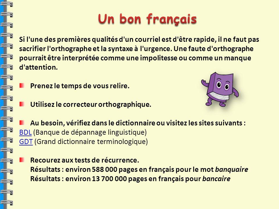 Un bon français