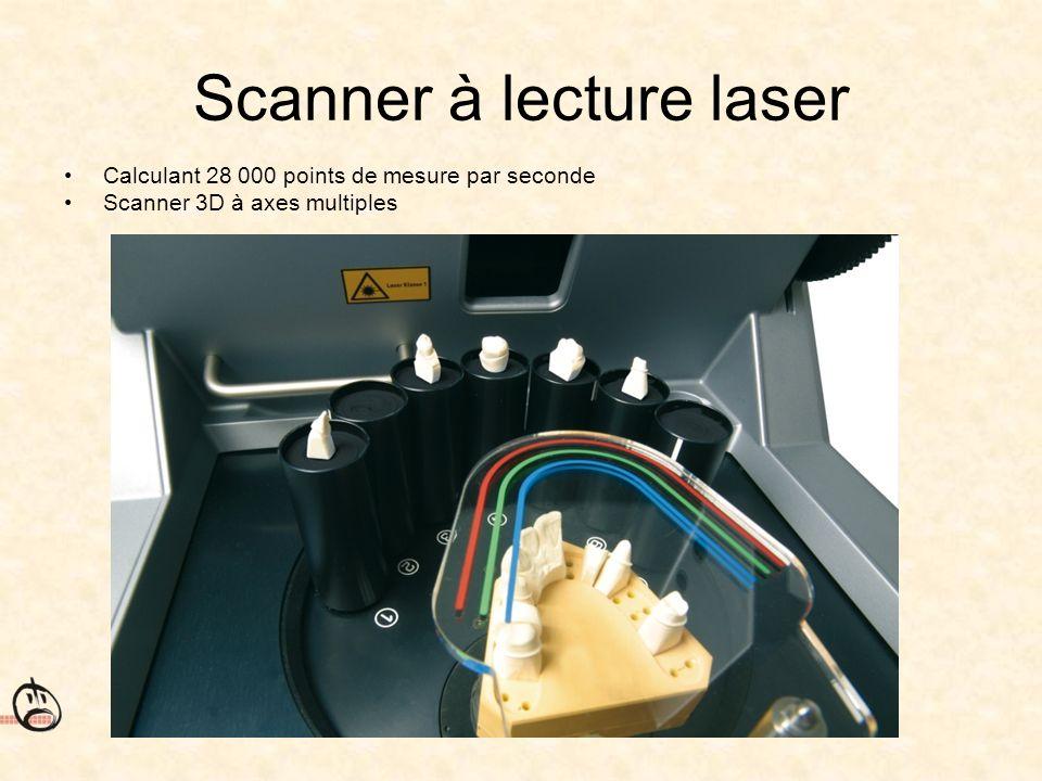 Scanner à lecture laser